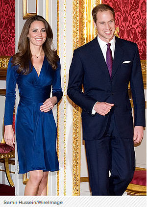 Kate e William: con un vestito blu nasce un brand di sangue blu