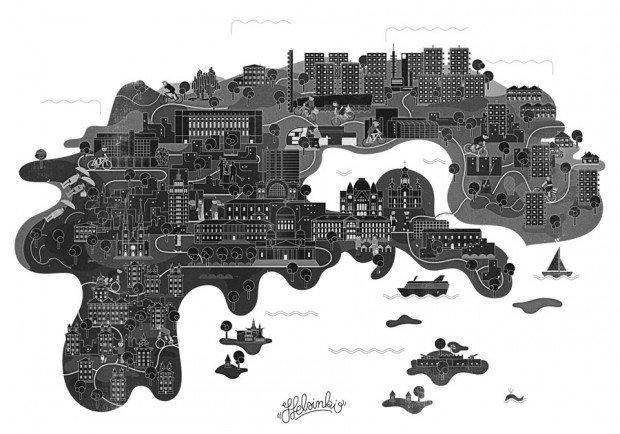 Città grigie ma belle grazie a Vesa Sammalisto [DESIGN]