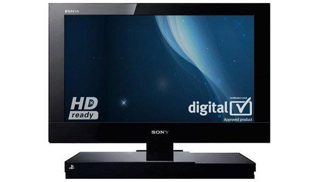 Sony aggiunge una PlayStation2 al suo LCD. Bravia!