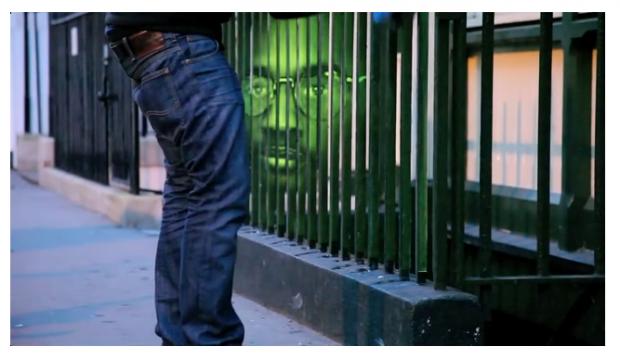 """Guerrilla Marketing per le strade di Londra – """"Making the invisible visibile"""""""