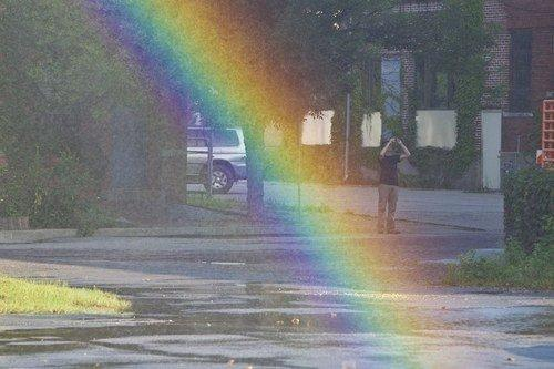 Costruita in USA la macchina per fabbricare gli arcobaleni!