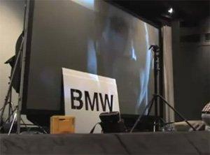 BMW si è spinta oltre: lo spot impresso direttamente sulla retina