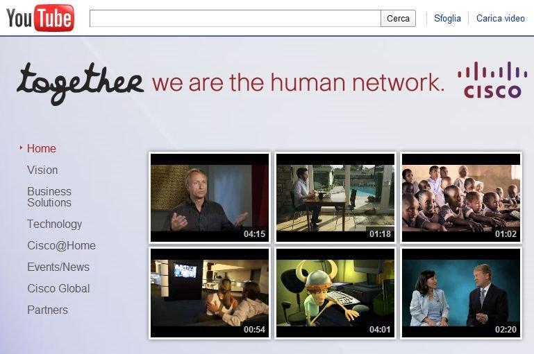 Cisco Systems su YouTube