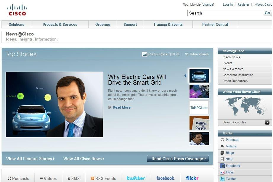 Corporate Newsroom Cisco