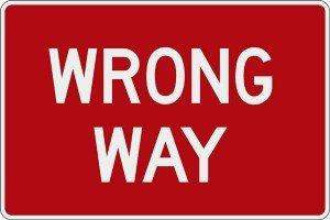 Wrong way le 5 pratiche di social media marketing da evitare [STRATEGY]