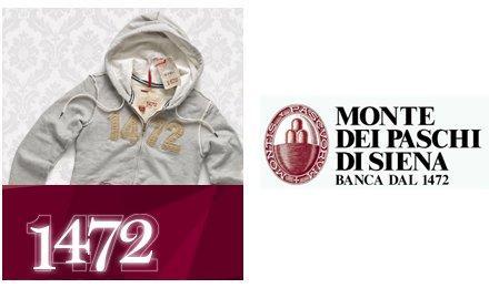 1472 e Monte dei Paschi di Siena, nasce la prima linea di abbigliamento ideata da una banca