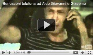 Berlusconi telefona ad Aldo, Giovanni e Giacomo [VIRAL VIDEO FAKE]