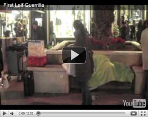 Social Guerrilla a Bari: SVEGLIA, BASTA DORMIRE! FIRST LAIF