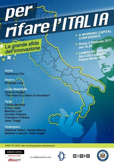 Una Banca dell'Innovazione per rifare l'Italia. Lectio Magistralis del Nobel Edmund Phelps. [EVENTO]