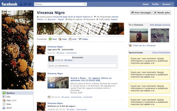 Nuovi profili di Facebook: siate creativi!