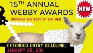 Creativi digitali italiani! Avete ancora tempo per iscrivervi ai Webby Awards