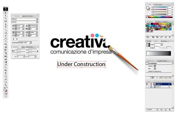 Sito web Creativa (in costruzione)