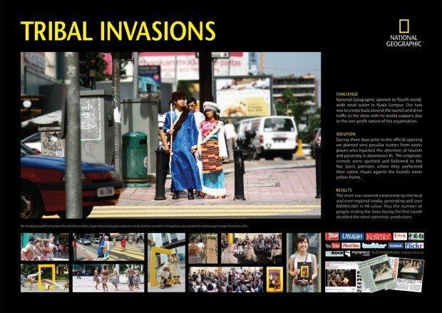 National Geographic a Kuala Lumpur: il marketing tribale preso alla lettera!