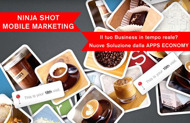 ninja shot mobile marketing kunai