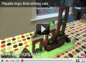 Angry Birds diventa una torta di compleanno! [VIDEO]