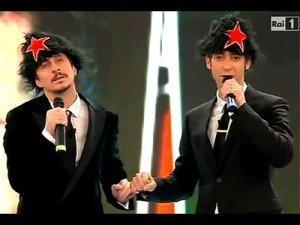 Uno su mille ce la fa! Luca e Paolo a Sanremo 2011 svelano chi sarà il leader della sinistra italiana!