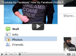 Youtube my Facebook e il profilo del Social Network prende vita [VIDEO]
