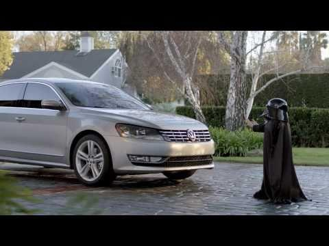 Il messaggio segreto di Darth Vader e Volkswagen all'advertising
