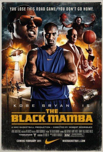 """Nike e Kobe Bryant presentano """"The Black Mamba"""": domani il trailer in anteprima"""