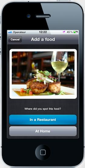L'app FoodReporter