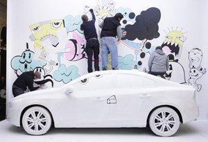L'arte scende in strada con la Volvo Art Session [AMBIENT MARKETING]