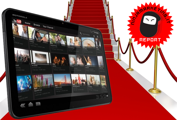 Red Carpet per Xoom! Motorola debutta negli store con il suo Tablet