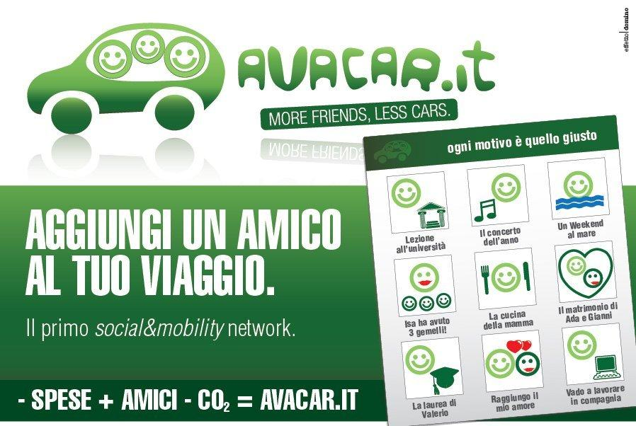 [INTERVISTA] Avacar.it: quando il car pooling si fa social!