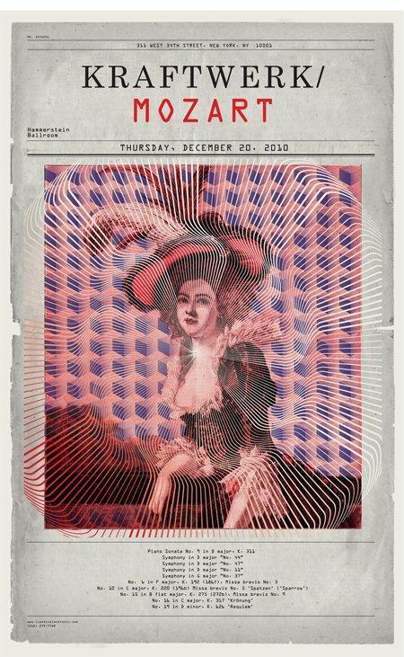 Comunicare la musica classica col design digitale: i poster di Jung Bae [DESIGN]