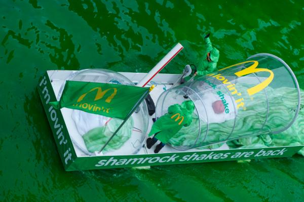 Ambush Marketing per McDonald's? I'm lovin'it!