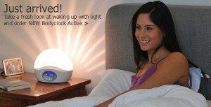 Volete i raggi del sole sul vostro comodino? Ecco la sveglia Bodyclock!