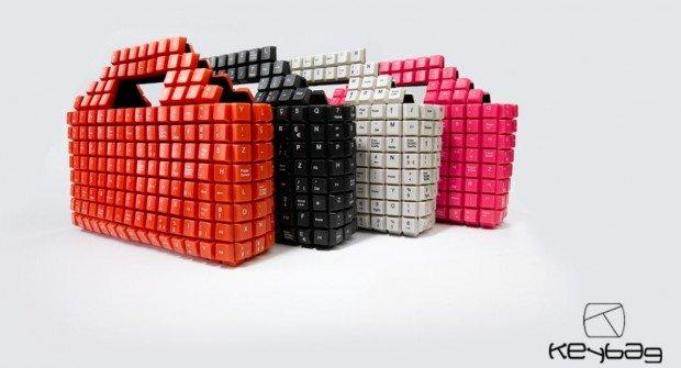 Keybag, la borsa geek frutto del riciclo intelligente