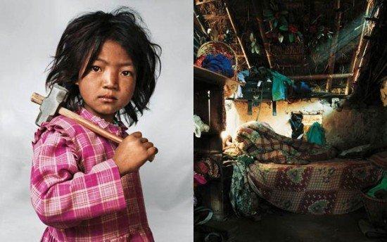 """""""Quando i bambini dormono"""": scatti sulle differenze culturali nei volti e nelle camere da letto"""