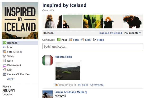 Marketing turistico e social media: il caso Inspired by Iceland