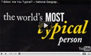 Are You Typical? Il video virale di National Geographic