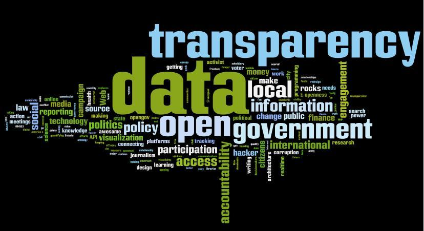 Data, Local, Transparency