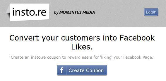 """Un regalo per ogni """"Like"""": Insto.re, il tool per i local business"""