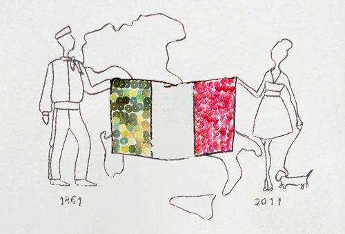 Le t-shirt limited edition per l'Unità d'Italia, tra glamour e storia!