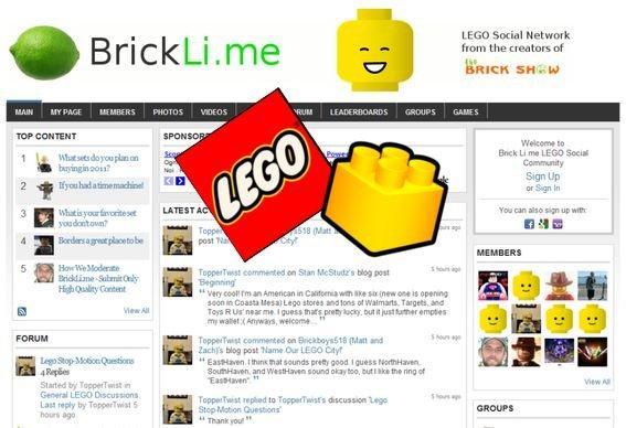BrickLi.Me: i fan dei LEGO hanno il loro social network!