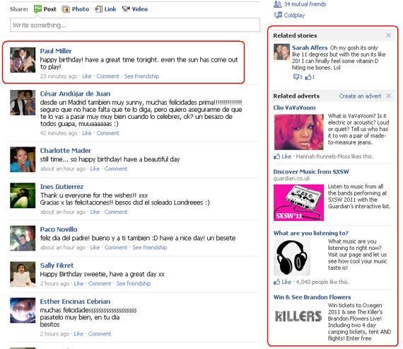 Nuovi tipi di inserzioni su Facebook: le Related Story [RUMOR]