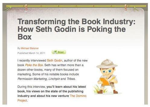Mike Stelzner intervista Seth Godin