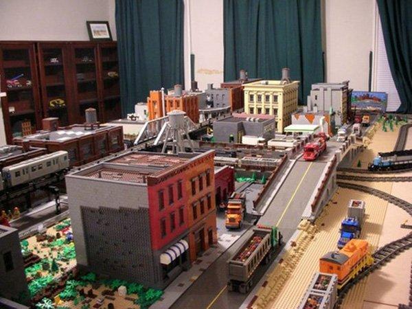 LEGO, un'intera Brooklyn costruita nel salotto