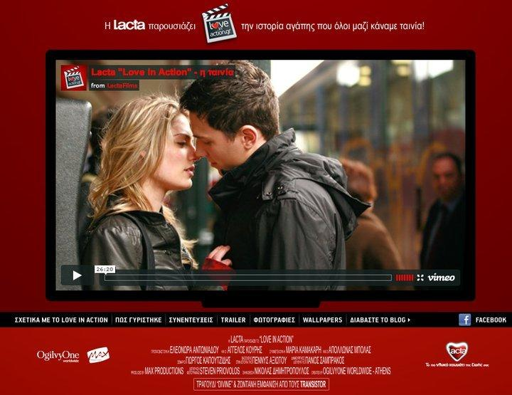 Love in Action, un film d'amore in crowdsourcing per Lacta [SPECIALE WEBBY AWARDS]