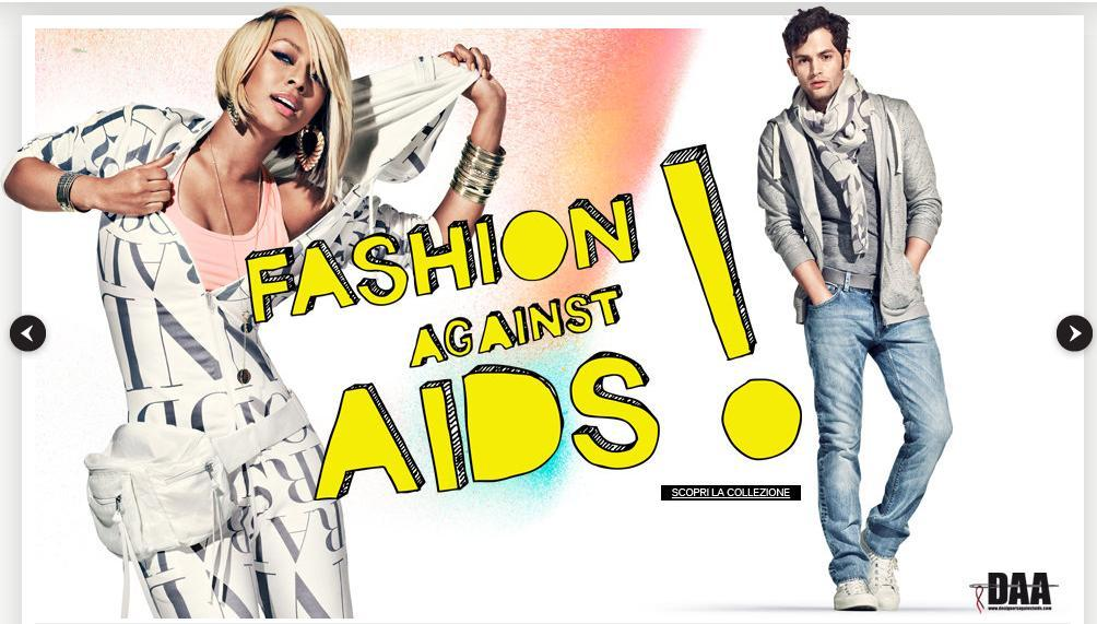 "Facebook: H&M lancia la campagna social ""I wear, I care"" contro l'AIDS"