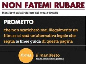 Media Digitali e Pirateria, il Manifesto per 'smettere' di fare il pirata