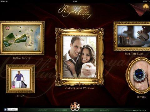 Le nozze reali a portata di smartphone: le app per il matrimonio dell'anno