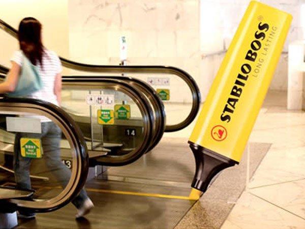 Escalator Adv: quando le scale mobili incontrano i brand