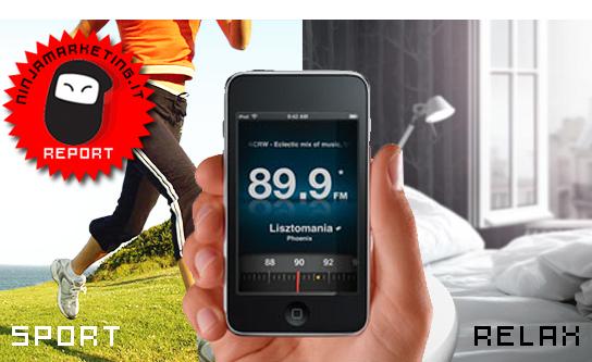 Radio Italiane: le iPhone App più scaricate [MOBILE TRENDS]