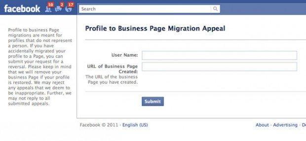 Facebook: come trasformare la tua pagina in un profilo personale [BREAKING NEWS]