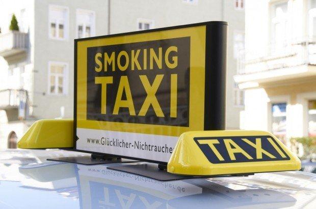 Fumare sul taxi? Si può, nella campagna anti-tabagismo
