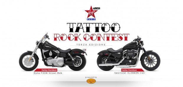 Tattoo Rock Contest: mostra il tuo tatuaggio e Virgin ti fa vincere una Harley!